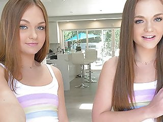 Teen Small Tits Blowjob video: CUM4K Multiple Oozing Creampies On Labor Day With Twin Teens