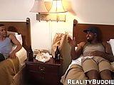 Black guy readies his asshole for a monster black schlong