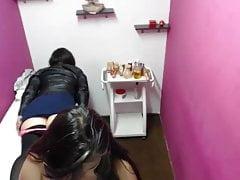 molestie nella sala massaggi