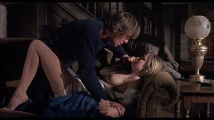 Woman masterbates orgasm