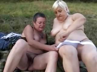 Lesbians Oldyoung Grannies video: 63.(#grandma #granny.)