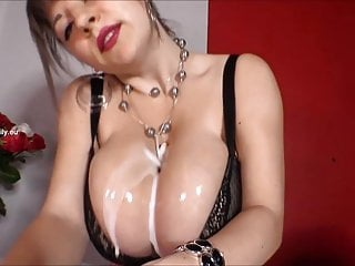 Bra Porn For Women Titty Fucking video: Cum on bra