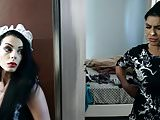 SLUTTY HOUSEKEEPER GET BUSTED