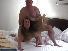 Incinta Sexy Hot Wife ottiene un Creampie