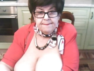 Big Tits Facial Granny video: Cute Grandma 2