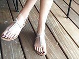 Elise's Candid Feet Part 7