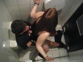 Hidden Cams Voyeur Bathroom video: Sex in the bathroom