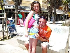 Tatjana sulla spiaggia - che troia arrapata!