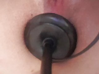 Gaping Amateur British video: Anal Training With My inflatable Butt Plug