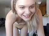 Nice teen and fav dildo