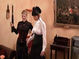 Femdom Spanking Maid video: tgirl dominated
