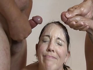 Facial Compilation Cumshot video: Splurging 1 - JizzNation