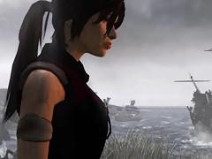 Tomb Raider 2013 spodní a chlupaté