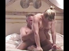Blonde Mature Wife Riding and Sucking