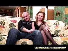 junges französisches Anal Casting