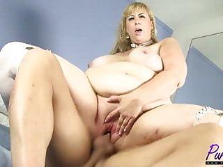 la bionda amazzone BBW Lila Lovely viene scopata