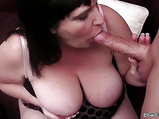 Andi XXX, very hot bbw picked up and fucked