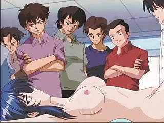 Hot Students Gangbang with a model