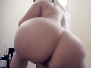 Sexy blonde perfect round ass
