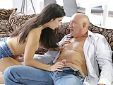 OLD4K. Sexy hottie anally stretched in great old and young..