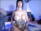 Tattoo big tits women