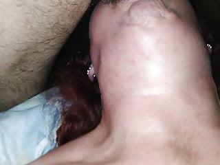 Cock swallow gag...