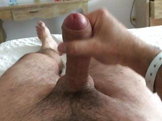 Big masturbation cumshot orgasm...