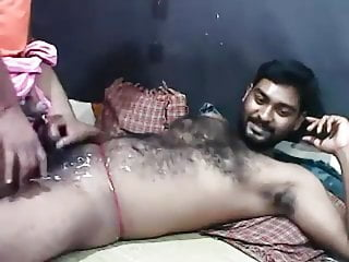 Indian bears cumming together on cam