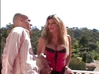 Krystal handles a huge cock