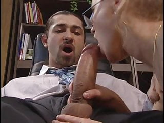 Blonde Stockings Hardcore video: Secretary Stockings DORA VENTER Hard Fucking