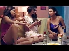 3 Hot & Sexy Beautiful Girls Fuck With Hot Boy (Hindi)