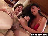HumMilfs - Latina cutie Lopez gets her ass worked hard.