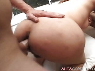 Her asshole fucked hard...