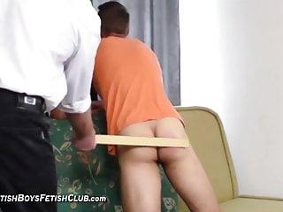 Top spanking gay...