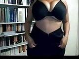 Naked ebony webcam