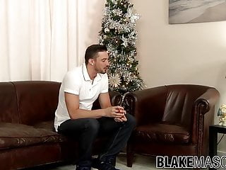 Handsome gay guy Sam Barclay is ready for solo action