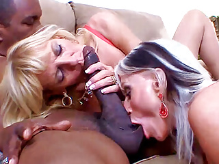 cocks black thin enjoy big Mature blondes