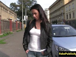 Public amateur sucking before...