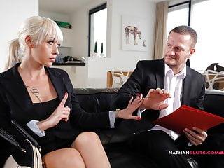 Horny Boss Ian Scott Pounds Busty Christina Shine