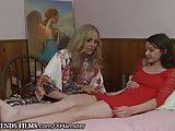 Lesbian Teen Guided by Sensual MILF Julia Ann
