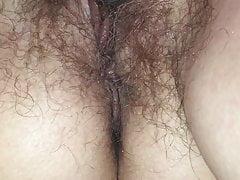Fingering Fucking my Wet  Hairy Pussy