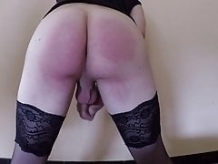 Old men spank and fuck my ass with toys and dildos