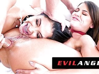 Evilangel jane wilde amp adriana chechik out slut...