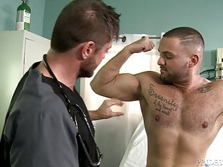 Versatile horny daddy pounds cute latino jock...