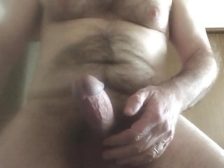 So hard, on the brink… handful of hot cum
