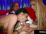 Penthouse Pet Nikki Benz &  Jessica Jaymes Fuck Evan Stone!