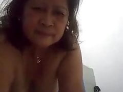 my chubby filipina granny yummy pt1.