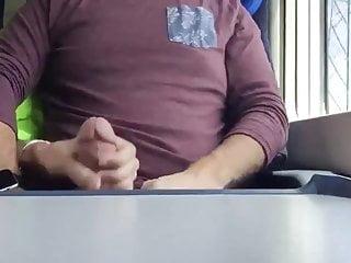 Masturbation a straight man on the way to work