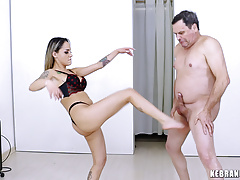 Ballbusting Audition with Barbara Alves