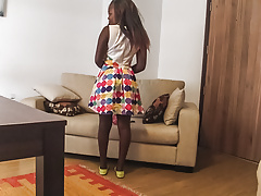 Big Tits Ebony Teen Fucks White Cock In Amateur Video